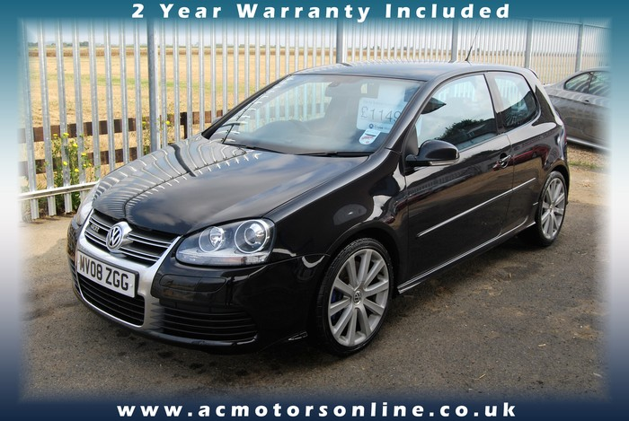 VW GOLF R32 - 250bhp (2008) - HEATED LEATHER