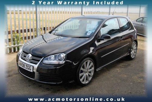 VW GOLF R32 - 250bhp (2008) - HEATED LEATHER - (Image 1)