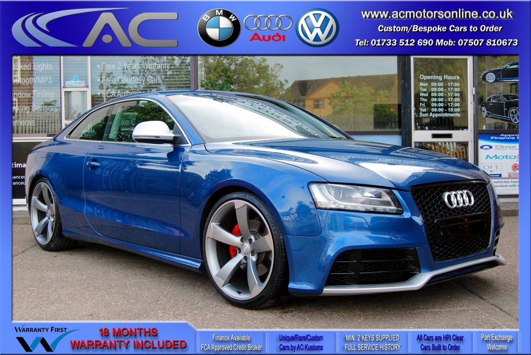 Audi A5 (RS Conversion) 3.2 V6 Quattro (2008) - 265bhp