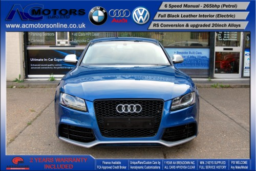 Audi A5 (RS Conversion) 3.2 V6 Quattro (2008) - 265bhp - (Image 2)