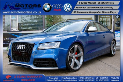 Audi A5 (RS Conversion) 3.2 V6 Quattro (2008) - 265bhp - (Image 3)