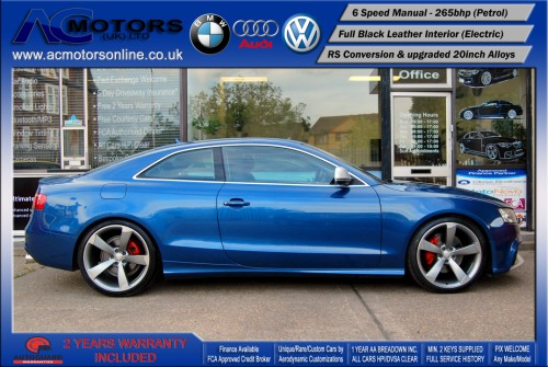 Audi A5 (RS Conversion) 3.2 V6 Quattro (2008) - 265bhp - (Image 4)
