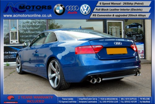 Audi A5 (RS Conversion) 3.2 V6 Quattro (2008) - 265bhp - (Image 5)