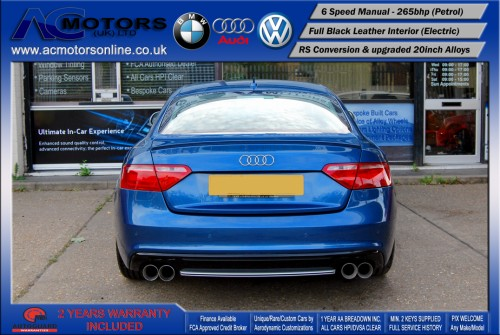 Audi A5 (RS Conversion) 3.2 V6 Quattro (2008) - 265bhp - (Image 6)