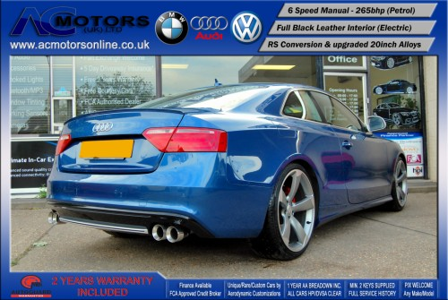 Audi A5 (RS Conversion) 3.2 V6 Quattro (2008) - 265bhp - (Image 7)