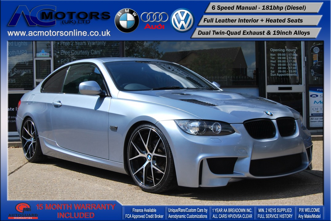 BMW 320D M3 M-Sport Highline (AC LCI DESIGN) COUPE (2009) - 174BHP