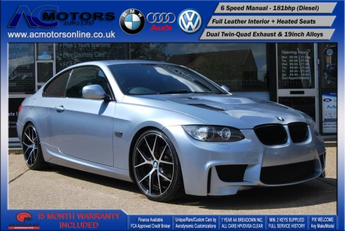 BMW 320D M3 M-Sport Highline (AC LCI DESIGN) COUPE (2009) - 174BHP - (Image 1)