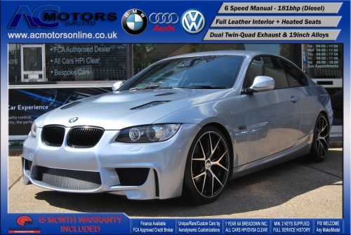 BMW 320D M3 M-Sport Highline (AC LCI DESIGN) COUPE (2009) - 174BHP - (Image 3)