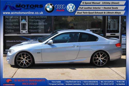 BMW 320D M3 M-Sport Highline (AC LCI DESIGN) COUPE (2009) - 174BHP - (Image 4)