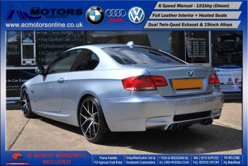BMW 320D M3 M-Sport Highline (AC LCI DESIGN) COUPE (2009) - 174BHP - (Image 5)