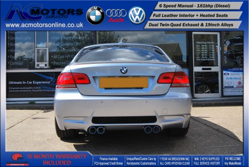 BMW 320D M3 M-Sport Highline (AC LCI DESIGN) COUPE (2009) - 174BHP - (Image 6)