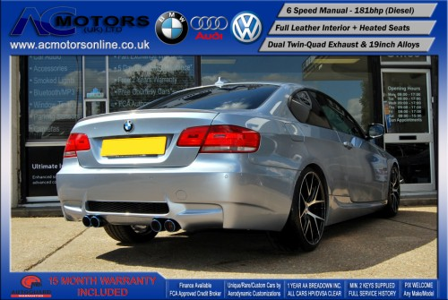 BMW 320D M3 M-Sport Highline (AC LCI DESIGN) COUPE (2009) - 174BHP - (Image 7)