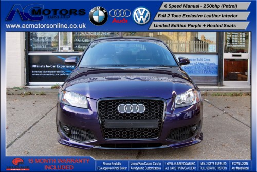 AUDI A3 S3 Style (S-Line) Special Edition - 2.0 TFSI (2006) - 250BHP - (Image 2)