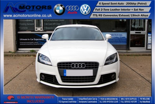 AUDI Exclusive 2.0 TFSI (RS Conversion) 2DR Coupe (2008) - 200bhp - (Image 2)