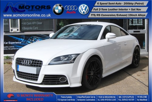 AUDI Exclusive 2.0 TFSI (RS Conversion) 2DR Coupe (2008) - 200bhp - (Image 3)