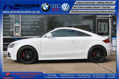 AUDI Exclusive 2.0 TFSI (RS Conversion) 2DR Coupe (2008) - 200bhp - (Image 4)