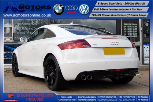 AUDI Exclusive 2.0 TFSI (RS Conversion) 2DR Coupe (2008) - 200bhp - (Image 5)