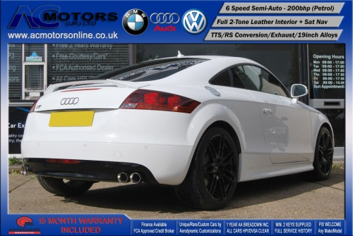 AUDI Exclusive 2.0 TFSI (RS Conversion) 2DR Coupe (2008) - 200bhp - (Image 7)