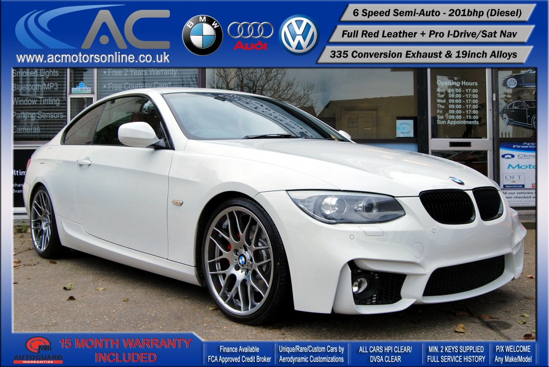 BMW 325D LCI M-Sport SEMI-AUTO (335 Conversion) COUPE (2011) - 201BHP