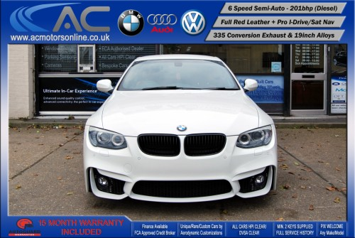 BMW 325D LCI M-Sport SEMI-AUTO (335 Conversion) COUPE (2011) - 201BHP - (Image 2)