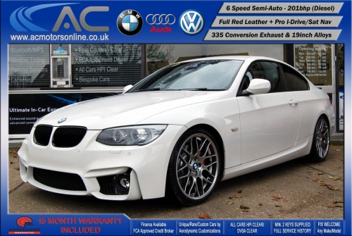 BMW 325D LCI M-Sport SEMI-AUTO (335 Conversion) COUPE (2011) - 201BHP - (Image 3)