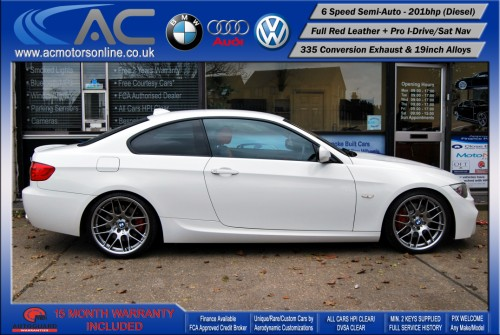 BMW 325D LCI M-Sport SEMI-AUTO (335 Conversion) COUPE (2011) - 201BHP - (Image 4)