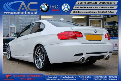 BMW 325D LCI M-Sport SEMI-AUTO (335 Conversion) COUPE (2011) - 201BHP - (Image 5)
