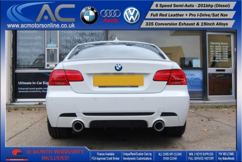BMW 325D LCI M-Sport SEMI-AUTO (335 Conversion) COUPE (2011) - 201BHP - (Image 6)