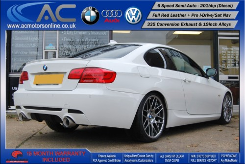 BMW 325D LCI M-Sport SEMI-AUTO (335 Conversion) COUPE (2011) - 201BHP - (Image 7)