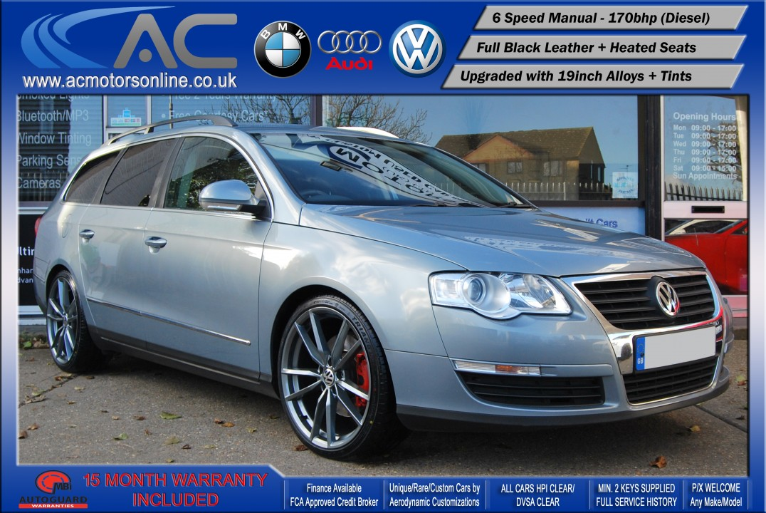 VW PASSAT Highline 2.0 TDI (2009) ESTATE - 170BHP