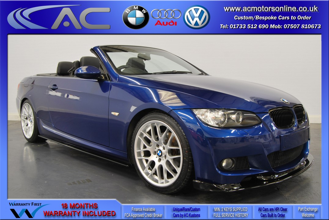 BMW 320D M-SPORT (335 CONVERSION) Convertible (2010) - 174BHP
