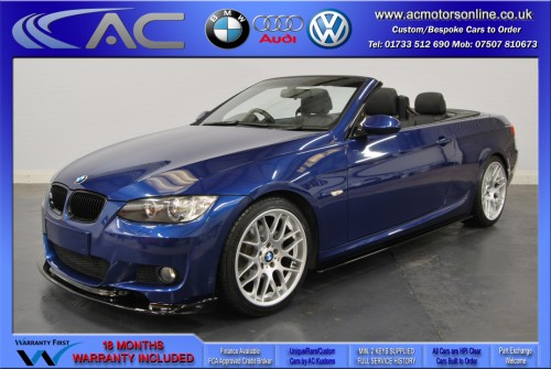 BMW 320D M-SPORT (335 CONVERSION) Convertible (2010) - 174BHP - (Image 3)