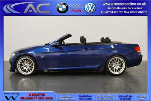 BMW 320D M-SPORT (335 CONVERSION) Convertible (2010) - 174BHP - (Image 4)