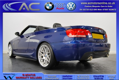 BMW 320D M-SPORT (335 CONVERSION) Convertible (2010) - 174BHP - (Image 5)