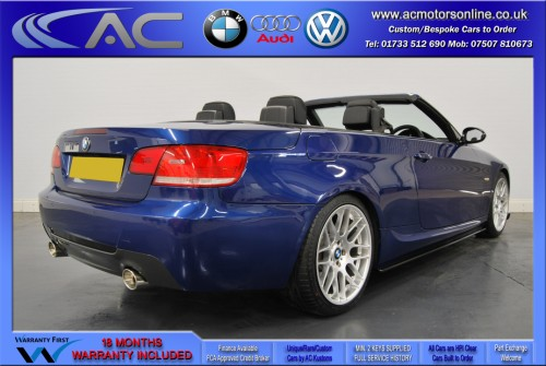 BMW 320D M-SPORT (335 CONVERSION) Convertible (2010) - 174BHP - (Image 6)
