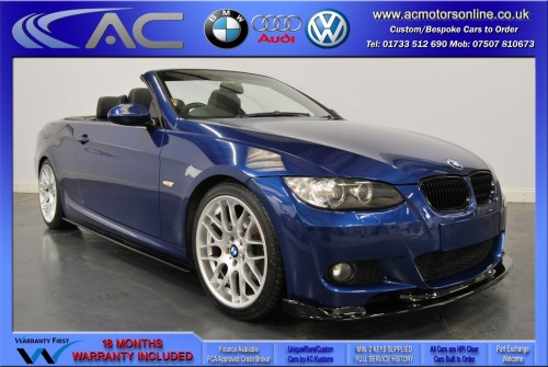 BMW 320D M-SPORT (335 CONVERSION) Convertible (2010) - 174BHP - (Image 7)