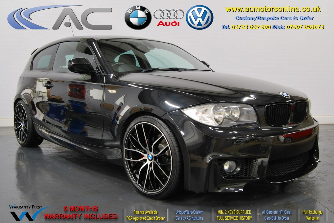 BMW (E81 - 1M STYLE) 118D M-SPORT (2011) HATCH - 140HP
