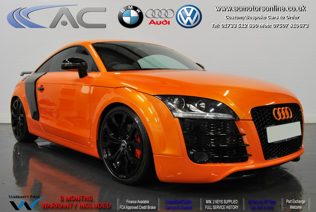 AUDI TT (R8 Stlye) - 2.0 TFSI (2007) - 200BHP (ONE OFF CAR)