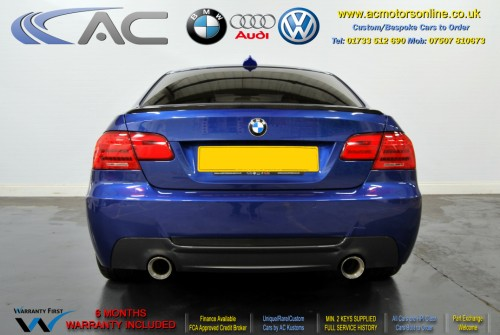 BMW 325I LCI SE (335 CONVERSION) COUPE (2010) - 214BHP - (Image 6)