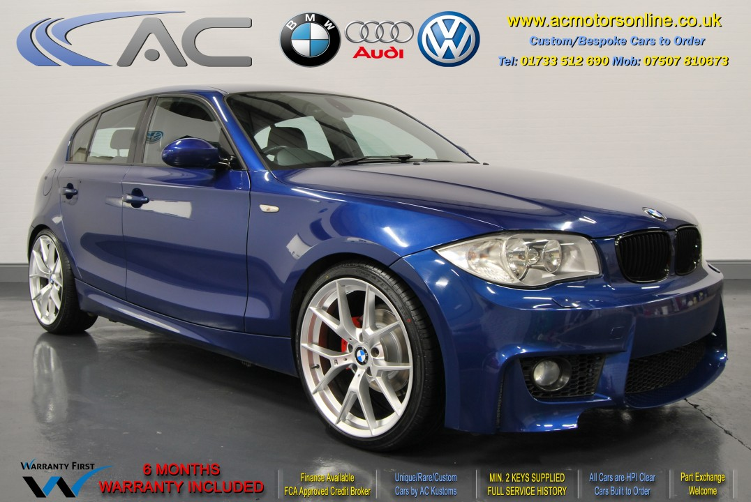 BMW (E87 - 1M STYLE) 116I M-SPORT (2007) HATCH - 115HP