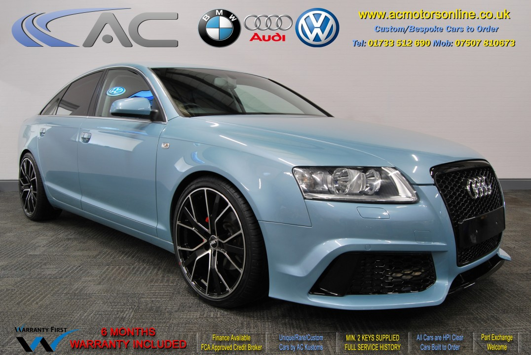 AUDI A6 Saloon (RS/RS6 STYLE) 2.0TDI L.E (2008) - 140BHP - (Image 1)