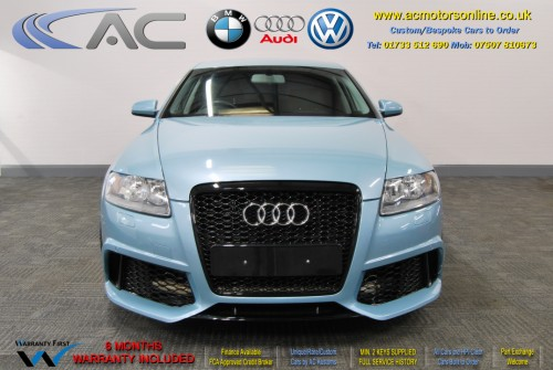 AUDI A6 Saloon (RS/RS6 STYLE) 2.0TDI L.E (2008) - 140BHP - (Image 2)