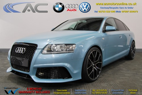 AUDI A6 Saloon (RS/RS6 STYLE) 2.0TDI L.E (2008) - 140BHP - (Image 3)
