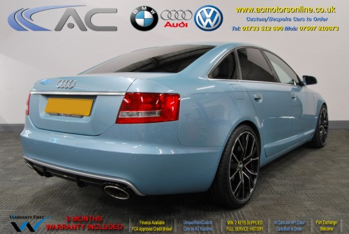 AUDI A6 Saloon (RS/RS6 STYLE) 2.0TDI L.E (2008) - 140BHP - (Image 5)
