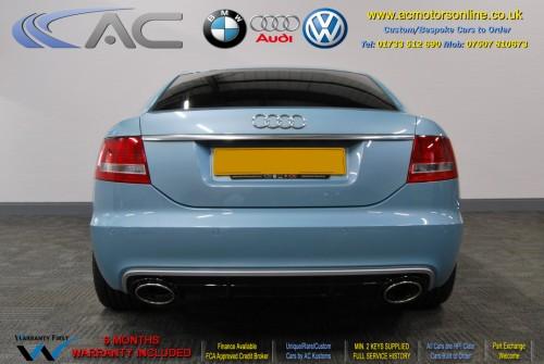 AUDI A6 Saloon (RS/RS6 STYLE) 2.0TDI L.E (2008) - 140BHP - (Image 6)