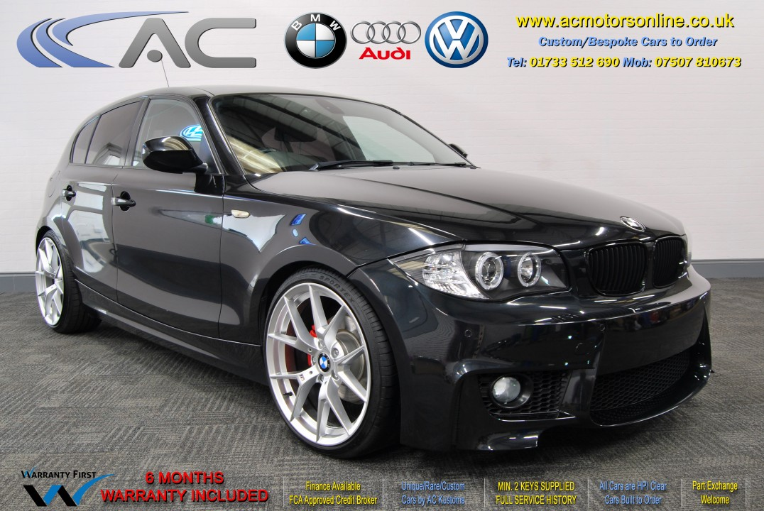 BMW (E87 - 1M STYLE) 118D SPORT (2011) HATCH - 140HP