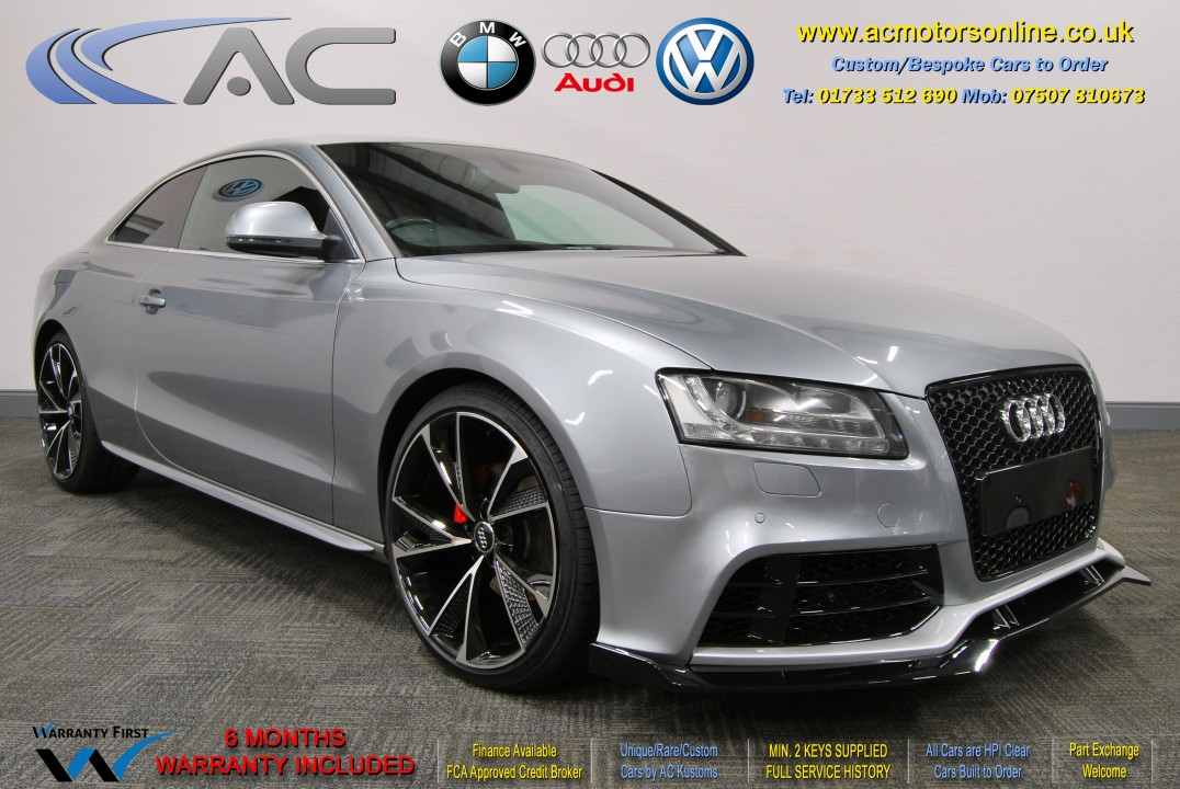 Audi A5 (RS Conversion) 2.0 TDI S-Line (2009) - 170bhp