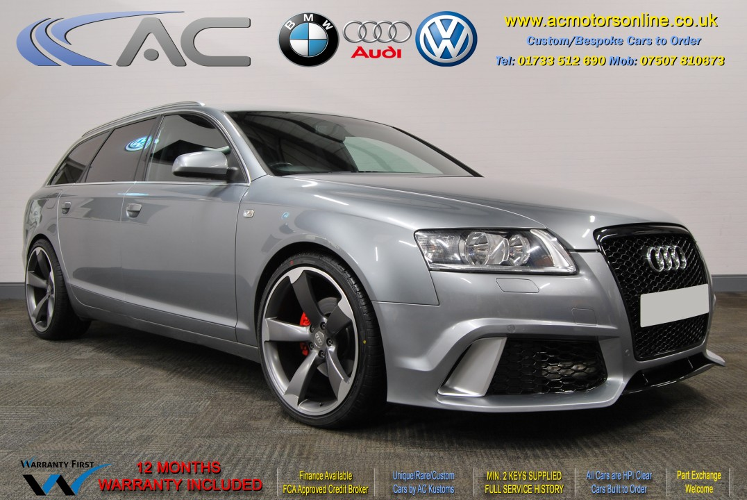 AUDI A6 AVANT (RS/RS6 STYLE) S-Line 2.0TDI (2008) - 140BHP - (Image 1)