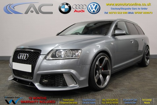 AUDI A6 AVANT (RS/RS6 STYLE) S-Line 2.0TDI (2008) - 140BHP - (Image 3)