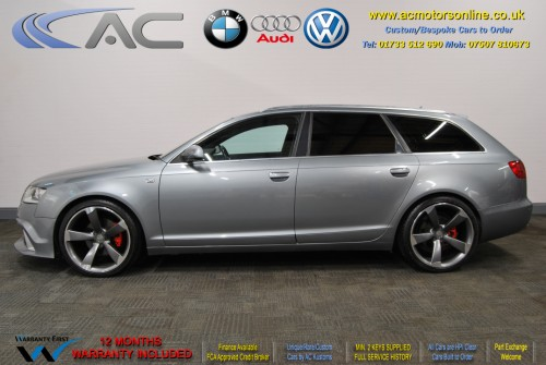 AUDI A6 AVANT (RS/RS6 STYLE) S-Line 2.0TDI (2008) - 140BHP - (Image 4)